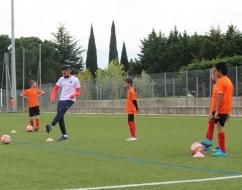 Mercredi c'est Coach MHSC qui t'entraîne ! FC Alignan