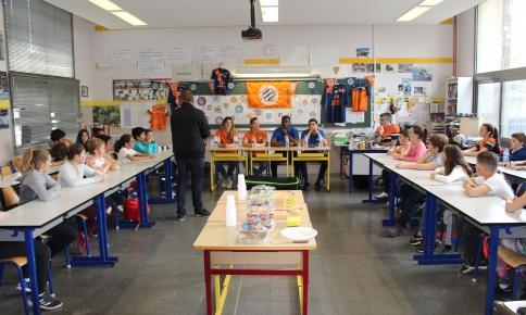Le MHSC sur les bancs de l'école Georges Bastide