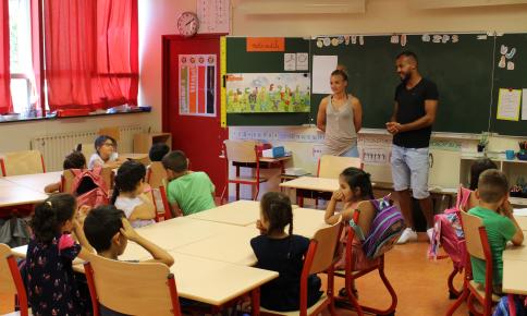 Le MHSC prolonge la rentrée des classes à l'école Simon Bolivar